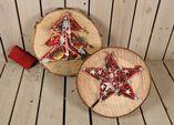 Baumscheibe Weihnachtsbaum/Stern