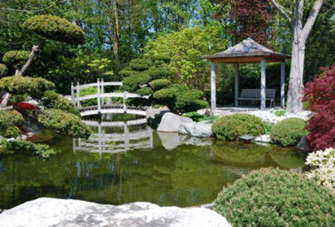 Der Feng Shui-Garten
