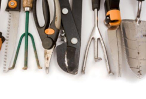 Werkzeug – Ein bisschen zupacken müssen Sie schon!
