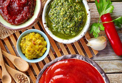 Dips und Saucen - Leckeres zu Gegrilltem, Käse und knusprigem Brot