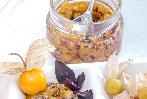 Ananas-Kirsch-Marmelade