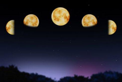 Mit dem Mond in Einklang