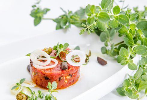 Mediterranes Beef Tatar